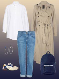 Die weiße Bluse ist das wichtigste Teil & jeder sollte sie im Schrank haben. 5 Wege sie richtig zu stylen kommen hier: Casual ✓ Schick ✓ Business ✓ Lässig✓