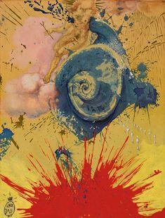 Salvador Dalí The Aura Of Cervantes Or L'aurore, 1957