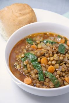 If you like lentils you will love this warm and comforting lentil soup. It's full of vegetables and a tasty gluten free and vegetable soup that everyone will love. It's easy and relatively quick to make. It does need about an hour to simmer, but it's sort of like a crock pot meal where you …