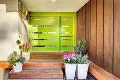 Welcome to a new collection of interior designs featuring 17 Captivating Mid-Century Modern Entrance Designs That Simply Invite You Inside. Modern Entrance, Entrance Design, Modern Door, Mid-century Modern, Modern Homes, Contemporary Homes, Main Entrance, Grand Entrance, Modern Landscape Design