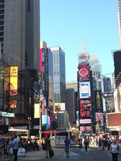 I loved time square beautiful