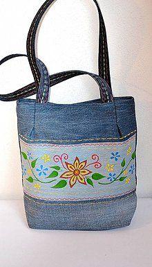 Veľké tašky - Riflová taška Táňa - 5516060_