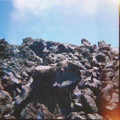 the volcano of santorini