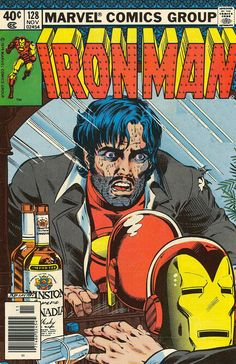 Iron Man Demon in a Bottle