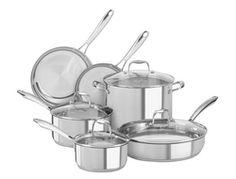 """Набор """"Chef"""" посуды из 4 предметов, 3-слойная, KitchenAid"""