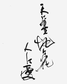 """Sky with stars, ground with flowers, and people with love"" by TAKAYAMA Chogyu (Japanese author and literary critic: 1871-1902)「天に星 地に花 人に愛」高山樗牛 (Calligraphy by Mariko Kinoshita)"