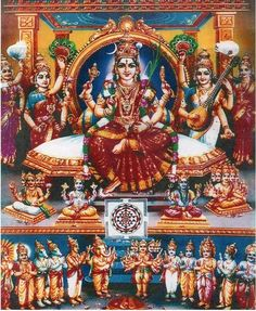 Navaratri Alankaram Nine Days Of Devi Attire. Mother Goddess, Goddess Lakshmi, Goddess Art, Shiva Lord Wallpapers, Avatar, Tanjore Painting, Mysore Painting, Lord Murugan, Hindu Mantras
