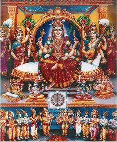 Navaratri Alankaram Nine Days Of Devi Attire.