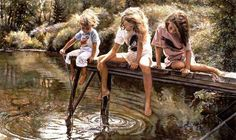 Steve Hanks Amazing Water Colour Painting !!!