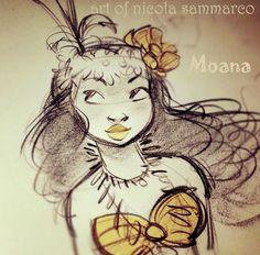 Moana by nicolasketch.deviantart.com on @deviantART