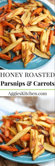 Parsnips and Carrots Honey Roasted Parsnips and Carrots are a great way to cook up seasonal fall root vegetables.Honey Roasted Parsnips and Carrots are a great way to cook up seasonal fall root vegetables. Parsnip Recipes, Carrot Recipes, Vegetable Recipes, Whole Food Recipes, Vegetarian Recipes, Cooking Recipes, Healthy Recipes, Carrot And Parsnip Recipe, Easter Recipes