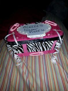 Diaper raffle box