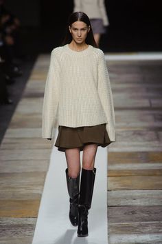 Not terribly unique, but that looks so comfy, I don't care. Theyskens' Theory NYFW Fall 2013
