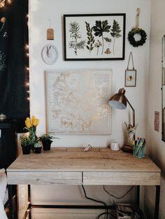 "coffeeandmoorland:  "" My little creation station.  """