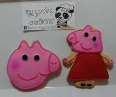 Ordencita entregada hoy! #peppapig #peppapigcookies #mycookiecreations #cookies ❤☺