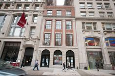 p The exterior of 21 East 26th St., the Whitman, a new condominium with just four full floor units that stretch the length of a full city block. Two contracts have been signed on $10 million units, one by former First Daughter Chelsea Clinton./p