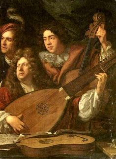 puget (1687) Music in Paintings