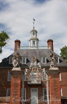 Royal Governor's Palace, Williamsburg, VA, Photo by David M. Doody