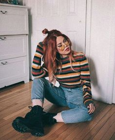 Ideas Vintage Look Fashion Outfits Edgy Outfits, Mode Outfits, Retro Outfits, Fall Outfits, Fashion Outfits, Cute Vintage Outfits, Grunge Winter Outfits, Cute Grunge Outfits, Winter Grunge