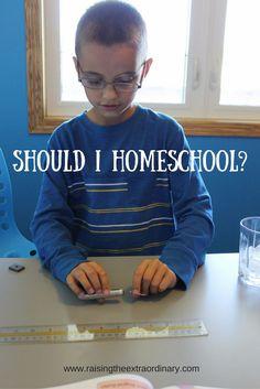 Should I Homeschool? - Raising the Extraordinary