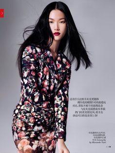 Vogue China October 2013 | Tian Yi by Stockton Johnson