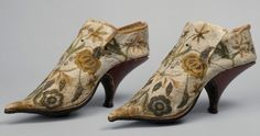 French Shoes, ca. 1690–1700 (via The Metropolitan Museum of Art)