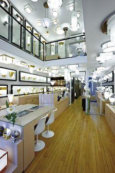 Showroom de l'Atelier Jean Perzel - 3 rue de la Cité Universitaire à Paris (14ème)