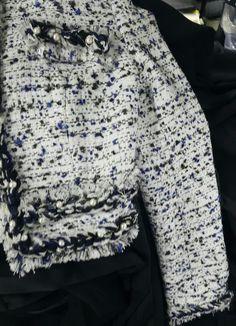샤넬풍의  고퀄리티 이태리 수입소재로 제작된 맞춤 쟈켓♡