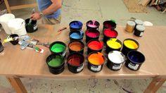 "Ian Davenport ""Colorfall"" at Paul Kasmin Gallery, 12 September - 26 October, 2013 on Vimeo"