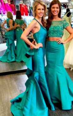 0c6c6235c5b Sherri Hill gown. Pageant gown. green pageant dress. Green formal gown.  Sherri