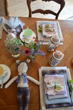 The table layout ready for our sewing guests at Chateau Domaine De La Salle Mollie Makes, White Cottage, Create Your Own, Ss, Awards, Table Settings, Workshop, Layout, Table Decorations