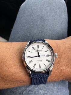[Seiko] My first mechanical Seiko Automatic Watches, Seiko Watches, Seiko Presage, Patek Philippe Calatrava, Watches Photography, Expensive Watches, Luxury Watches For Men, Accessories, Collection