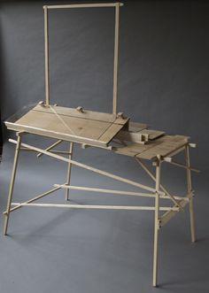 """Exhibition Furniture"": David Gates davidgates.wordpress.com Crate Furniture, Cool Furniture, David Gates, Cabinet Making, Wooden Projects, Art Plastique, Wood Design, Joinery, Design Crafts"