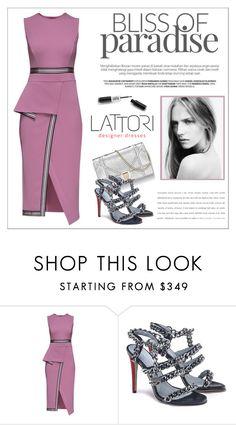 """LATTORI dress"" by water-polo ❤ liked on Polyvore featuring Lattori, polyvoreeditorial and lattori"
