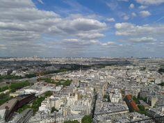 Paris vista pela torre Eiffel
