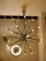 rewire / Custom Multi Arm Chandelier