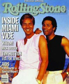 Rolling Stone - Don Johnson & Phillip Michael Thomas