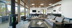 Moderni puutalo Naava Resort Spa | Modern wooden architecture | Honkatalot.fi