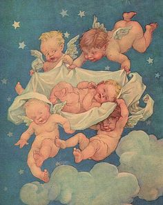 Vintage Babies and Cherubs by HauntingVisionsStock.deviantart.com on @deviantART