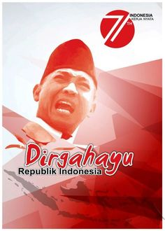 Poster Dirgahayu Kemerdekaan 71 Tahun Indonesia
