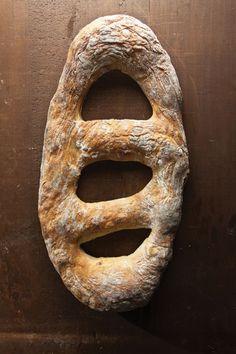 Potato Thyme Fougasse  Hungry Ghost Bread  62 State Street  Northampton, Massachusetts  413/582-9009