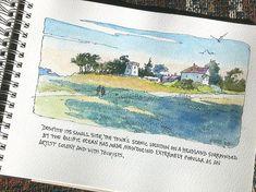 watercolor journaling - Tricia Reichert
