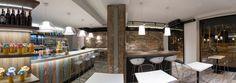 Vista panorámica del restaurante | Reforma Milky Way Coffe & Bar | Standal #reforma #integral #reformas #locales #comerciales #interiorismo #decoración #restaurante #barcelona