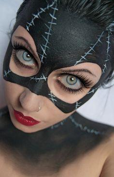 MakeUp: CatWoman. by JessieOctober.deviantart.com on @DeviantArt