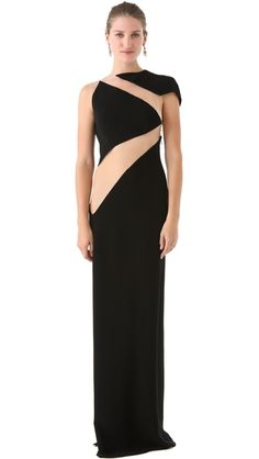 Reem Acra Cutout Gown- if only