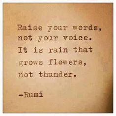 So you don't get that sore throat & the little darlings inner voice is the encouraging, supportive one...