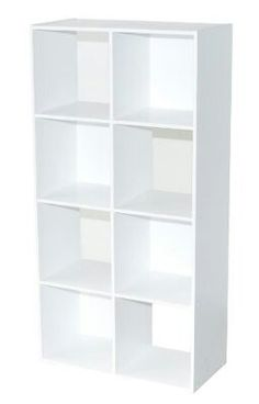 Amazon £42.64 Alsapan 3.6 out of 5 stars  28 Reviews Alsapan Compo 4 x 2 Cube with White Melamine, 122.3 x 61.5 x 29.5 cm, White
