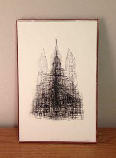 Temple Print / Maddison Colvin
