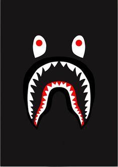 14989bda Bape Shark, Shark Logo, Supreme Wallpaper, Skate Clothing, Iphone  Wallpapers, Shirt