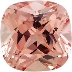 Antique Square Chatham Created Champagne Sapphire | Stuller